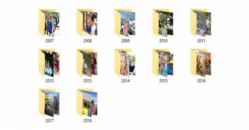 Compile your photos in a safe album